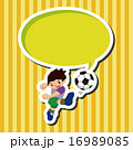 サッカー サッカー選手 蹴球 16989085