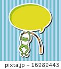 かえる カエル 蛙のイラスト 16989443