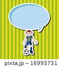 サッカー選手 男達 男の人 16993731