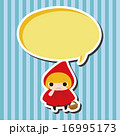 ベクター 赤頭巾 赤ずきんちゃん 16995173