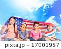 アメリカ合衆国 星条旗 子の写真 17001957