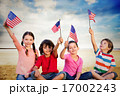 アメリカ 女の子 女児の写真 17002243