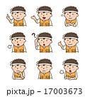 バリエーション ベクター 人物のイラスト 17003673