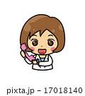 薬剤師 ベクター 電話のイラスト 17018140
