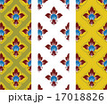 thai traditional style art pattern 17018826
