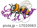 Bee and text 17020063