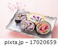 太巻き 巻き寿司 寿司の写真 17020659