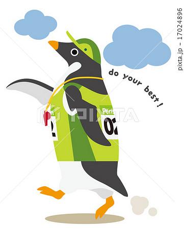 アデリーペンギン マラソン 17024896