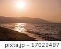 夕日と海(小樽) 17029497