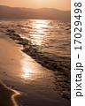 夕日と海(小樽) 17029498