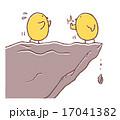 説得するヒヨコ 17041382