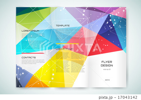 abstract brochure or flyer design template book cover design blank