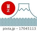 イラスト 賀正 富士山のイラスト 17045113