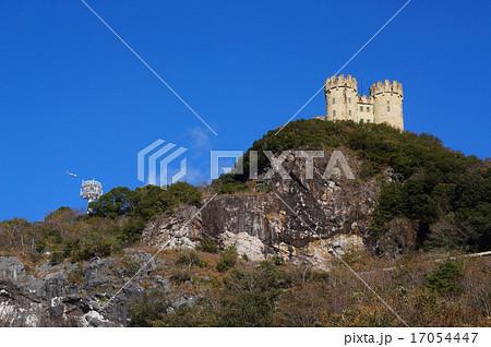 三宝山にある西洋の古城のような廃墟 17054447