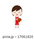 ユニフォーム 子供 バスケットボールのイラスト 17061820