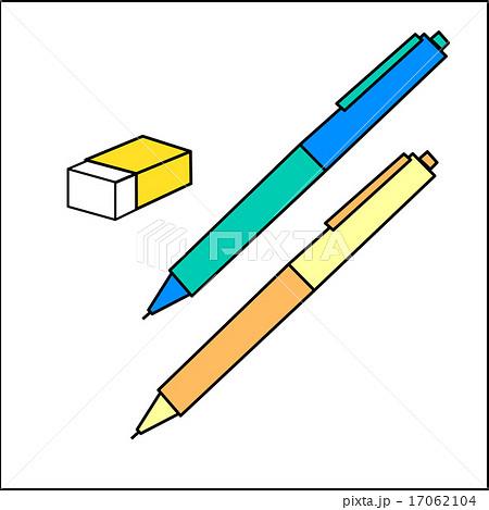 シャープペン消しゴムのイラスト素材 17062104 Pixta