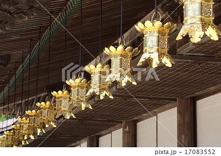 高野山 金剛峯寺 御影堂の釣灯籠 17083552