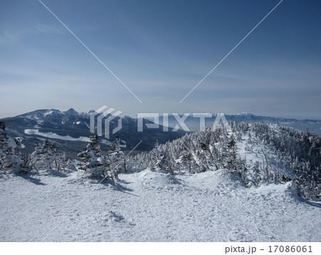 北八ヶ岳 蓼科 雪山 ピラタス 北横岳 スノーハイク 17086061