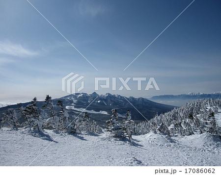 北八ヶ岳 蓼科 雪山 ピラタス 北横岳 スノーハイク 17086062