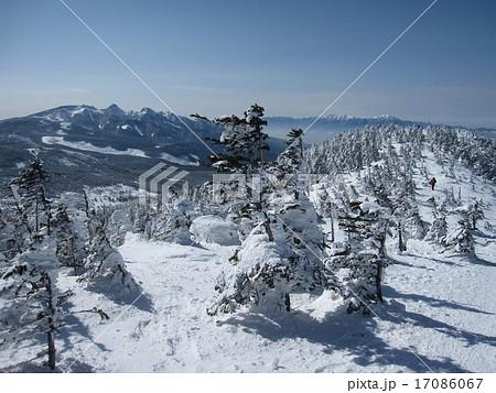 北八ヶ岳 蓼科 雪山 ピラタス 北横岳 スノーハイク 17086067