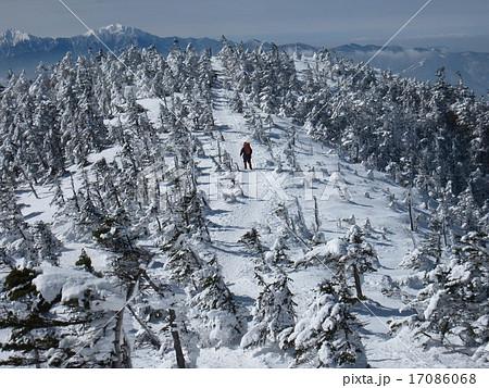 北八ヶ岳 蓼科 雪山 ピラタス 北横岳 スノーハイク 17086068