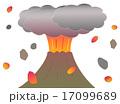 山の噴火 17099689