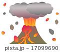 山の噴火 17099690