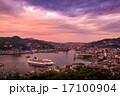 夕暮れ 長崎 長崎港の写真 17100904