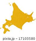 北海道地図 17103580