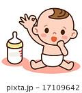 OKサインの赤ちゃん 17109642