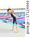 水泳の準備体操 17114444