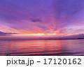 【滋賀県】びわ湖の夕焼け 17120162