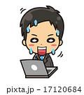 パソコンとビジネスマン 17120684
