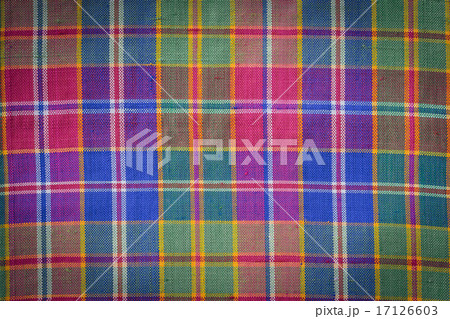 Thai style handcrafted textile made by silk from northeast, Thaiの写真素材 [17126603] - PIXTA