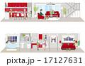 インテリア ベクター 生活のイラスト 17127631