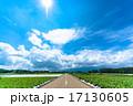 夏の大空と大地 17130605