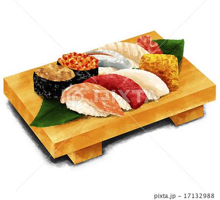 リアル寿司のイラスト素材 17132988 Pixta