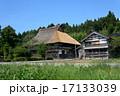 茅葺き屋根 古民家 里山の写真 17133039