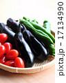 茄子 食材 野菜の写真 17134990