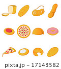 Collection of bread icons 17143582