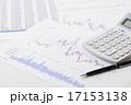 電卓 計算機 グラフの写真 17153138