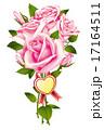 薔薇 花束 ピンク  17164511