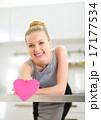 ハート ハートマーク 心臓の写真 17177534