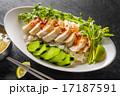 シンガポール・マレーシア・タイ風チキンライス Hainanese chicken rice 17187591