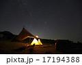 天の川 沢水キャンプ場 夜空の写真 17194388