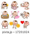 ベクター バリエーション 赤ちゃんのイラスト 17201024