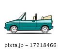 乗用車 オープンカー ベクターのイラスト 17218466