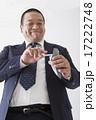 スーツを着た中年男性 17222748