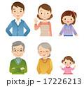 三世代家族 6人 アイコン 17226213