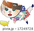地図のをんな チアガール アメリカ 17249728